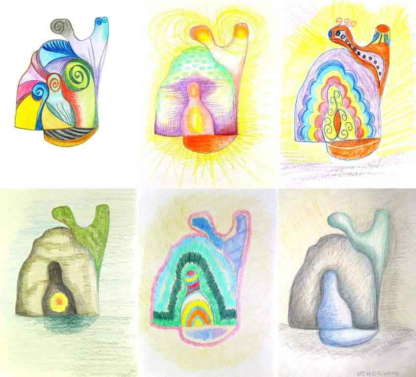 необычные раскраски для взрослых